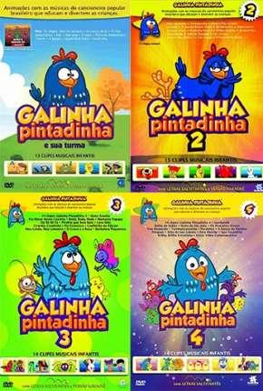 Galinha Pintadinha 1, 2, 3 e 4 - Todos os Filmes Torrent Download  720p