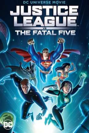 Filme Liga da Justiça vs. os Cinco Fatais