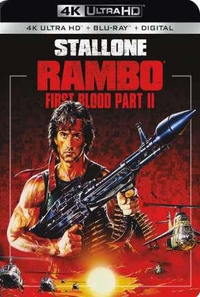 Filme Rambo 2 - A Missão 4K