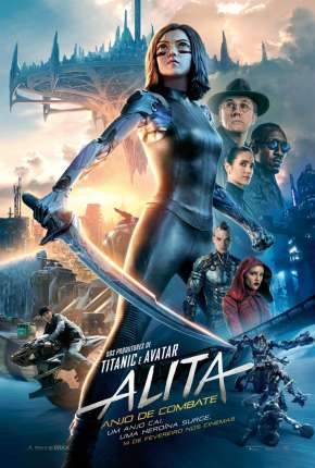 Filme Alita - Anjo de Combate