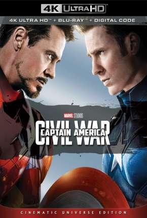 Filme Capitão América - Guerra Civil 4K Remux