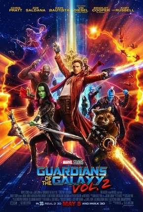 Filme Guardiões da Galáxia Vol. 2 - IMAX OPEN MATTE
