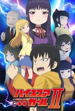 Anime Hi Score Girl - 2ª Temporada Completa - Legendada
