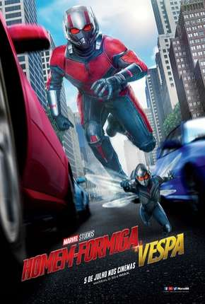 Filme Homem-Formiga e a Vespa - IMAX OPEN MATTE