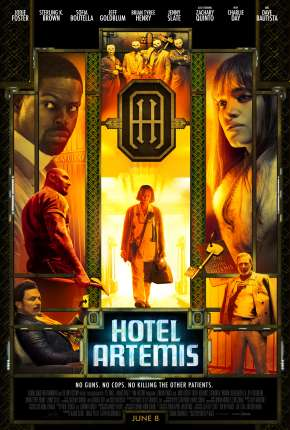 Filme Hotel Artemis BluRay