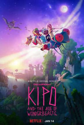 Desenho Kipo e os Animonstros - 1ª Temporada Completa