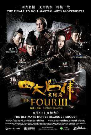 Filme Os Quatro 3 - A Batalha Final