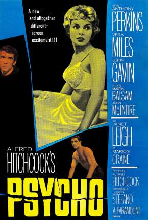 Filme Psicose (1960) Clássico