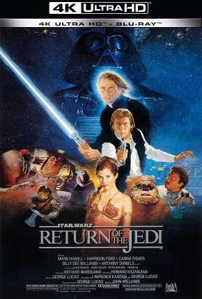 Filme Star Wars - Episódio VI - O Retorno de Jedi - 4K