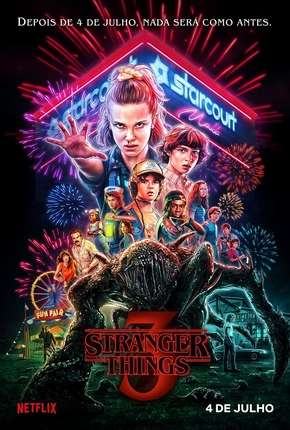 Série Stranger Things - 3ª Temporada Completa