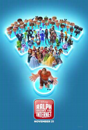 Filme WiFi Ralph - Quebrando a Internet BluRay