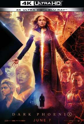 Filme X-Men - Fênix Negra - 4K