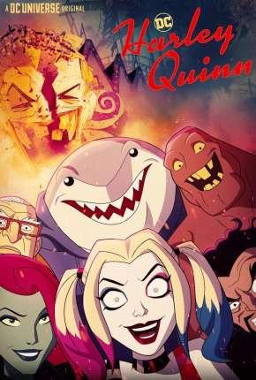 Desenho Arlequina - Harley Quinn 1ª Temporada Completa