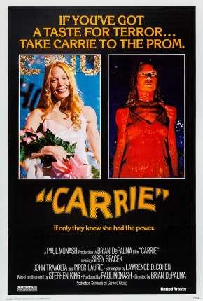Filme Carrie, a Estranha - Clássico