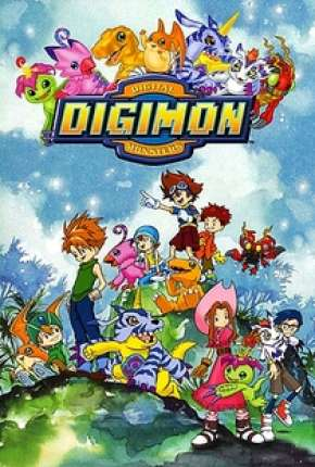 Anime Digimon 1ª até 5ª Temporada