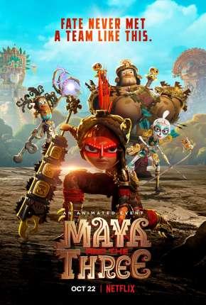 Desenho Maya e os 3 Guerreiros - Legendado